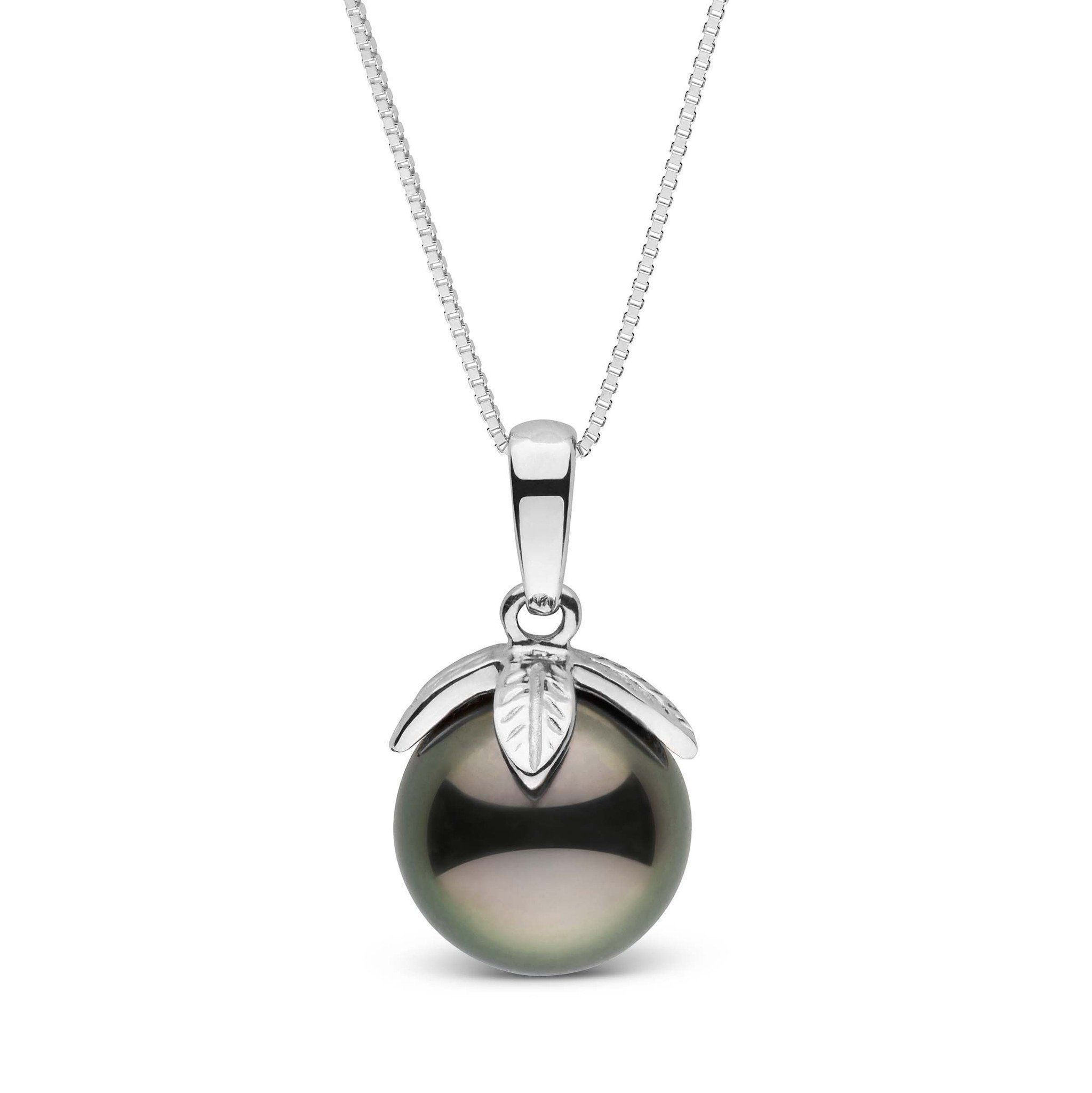Leaf Collection 9.0-10.0 mm Tahitian Pearl Pendant