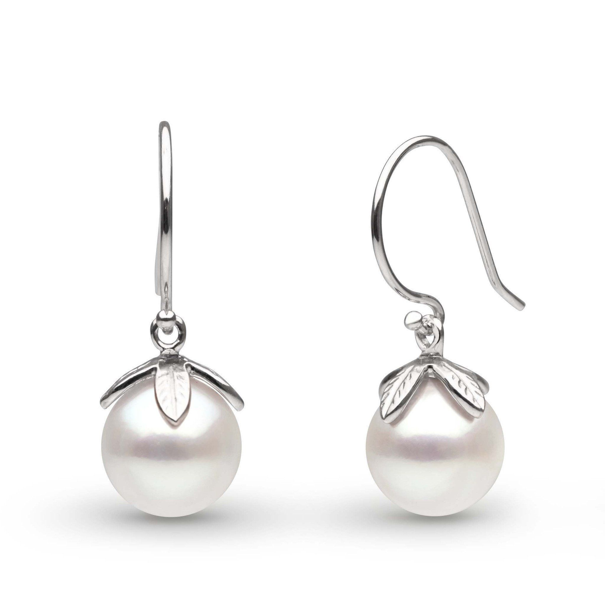 Leaf Collection Freshadama Pearl Earrings