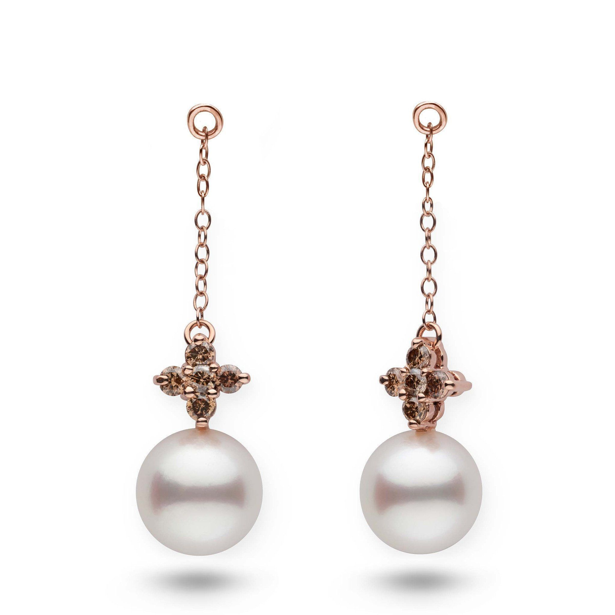lilac earring diam pearl diamond and jackets products collection south white sea earrings champagne