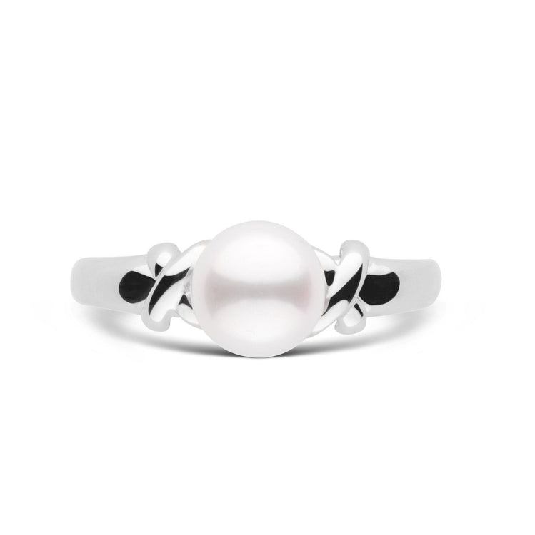 Love Collection Akoya Pearl Ring