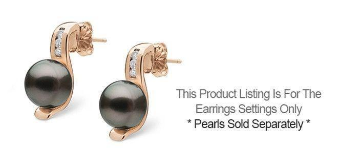 Melody Collection Earrings - Setting Only
