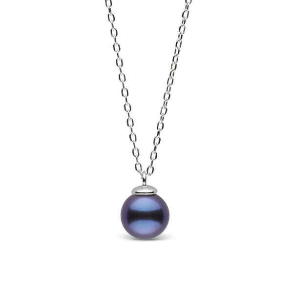 Black pearl pendants pearl paradise mini collection black 65 70 mm freshwater pearl pendant aloadofball Image collections