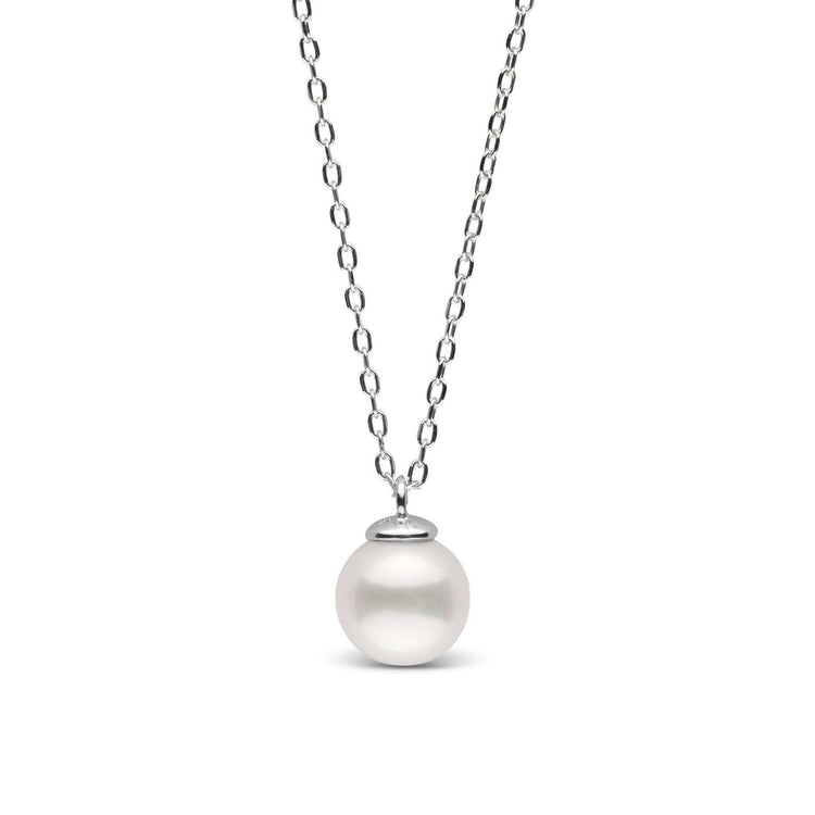 Mini Collection White 6.5-7.0 mm Freshwater Pearl Pendant