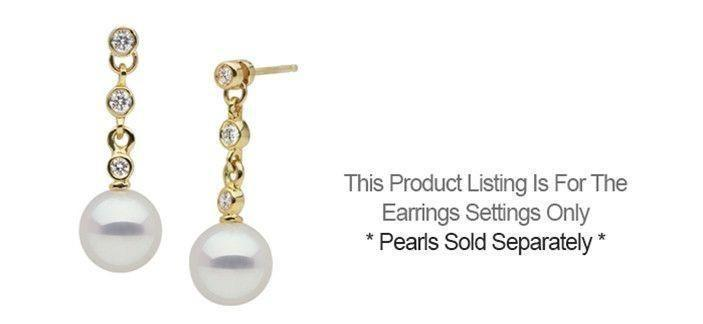 Orion Collection Earrings - Setting Only