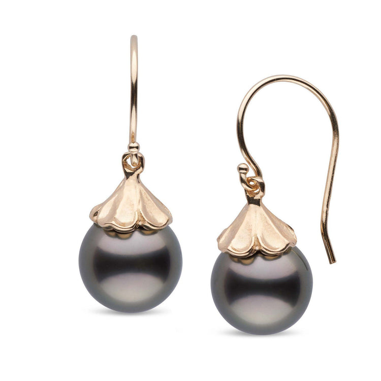 Petal Collection Tahitian 10.0-11.0 mm Pearl Earrings