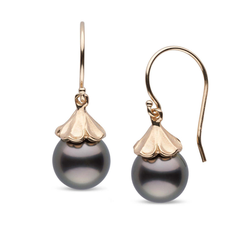 Petal Collection Tahitian 9.0-10.0 mm Pearl Earrings