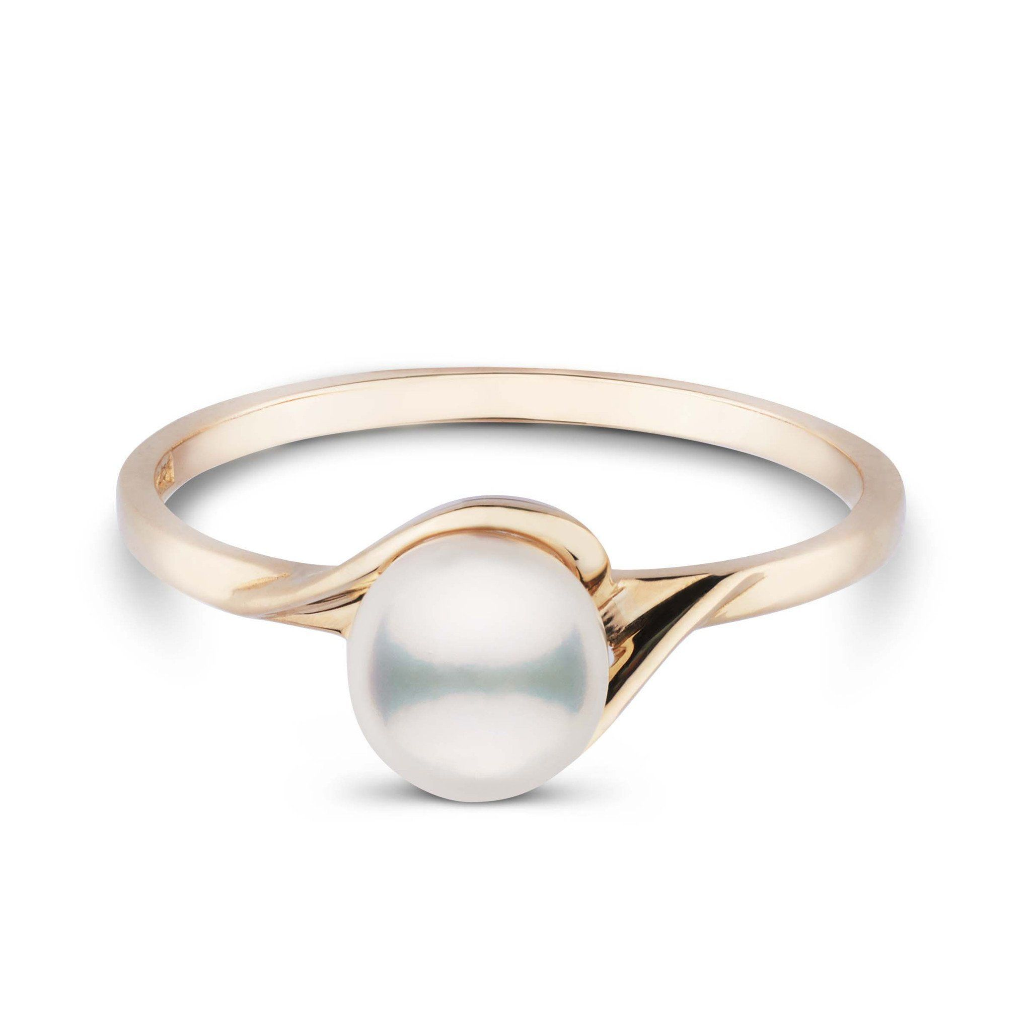 Petite Collection Akoya Pearl Ring