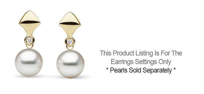 Reuleaux Collection Earrings - Setting Only