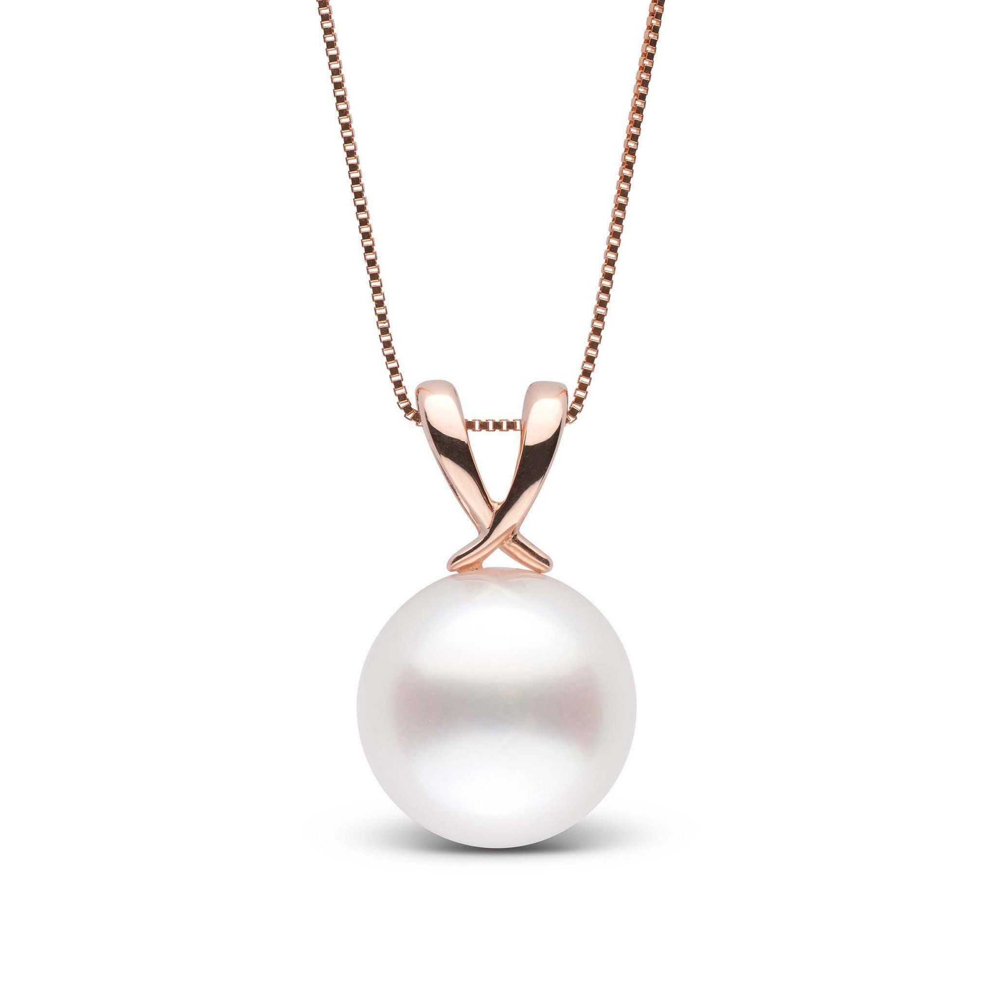 Ribbon collection 110 120 mm white south sea pearl pendant aloadofball Gallery