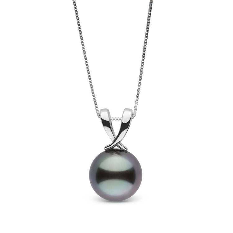 Ribbon Collection Tahitian 10.0-11.0 mm Pearl Pendant in Sterling Silver