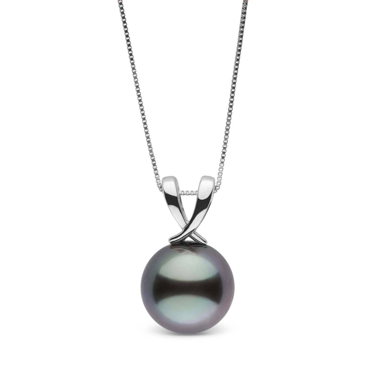 Ribbon Collection Tahitian 11.0-12.0 mm Pearl Pendant in Sterling Silver