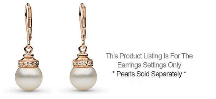 Royalty Collection Earrings - Setting Only