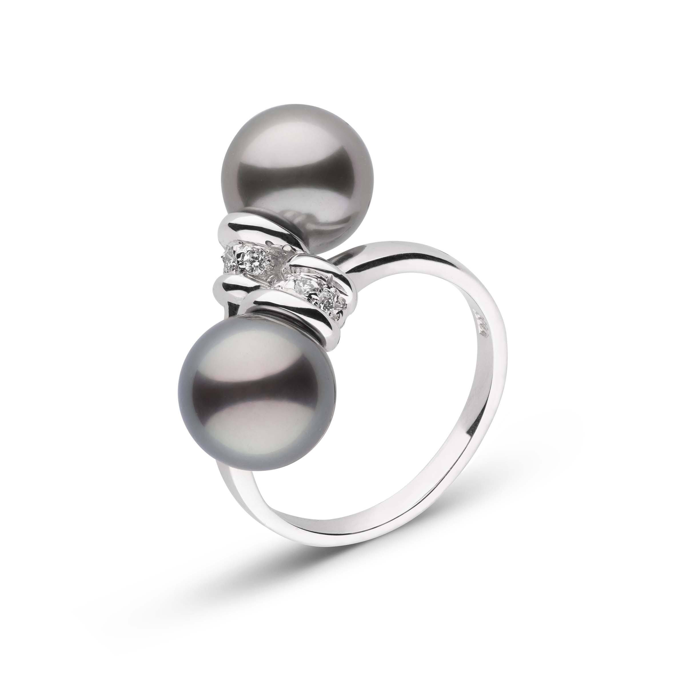 Royalty Collection Tahitian Pearl and Diamond Ring