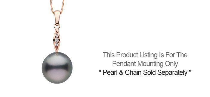 Shimmer Diamond Pendant - Setting Only