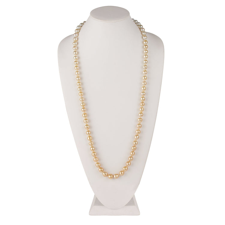 Special 36 Inch 10.0-11.0 mm Ombre Golden South Sea Pearl Strand 1