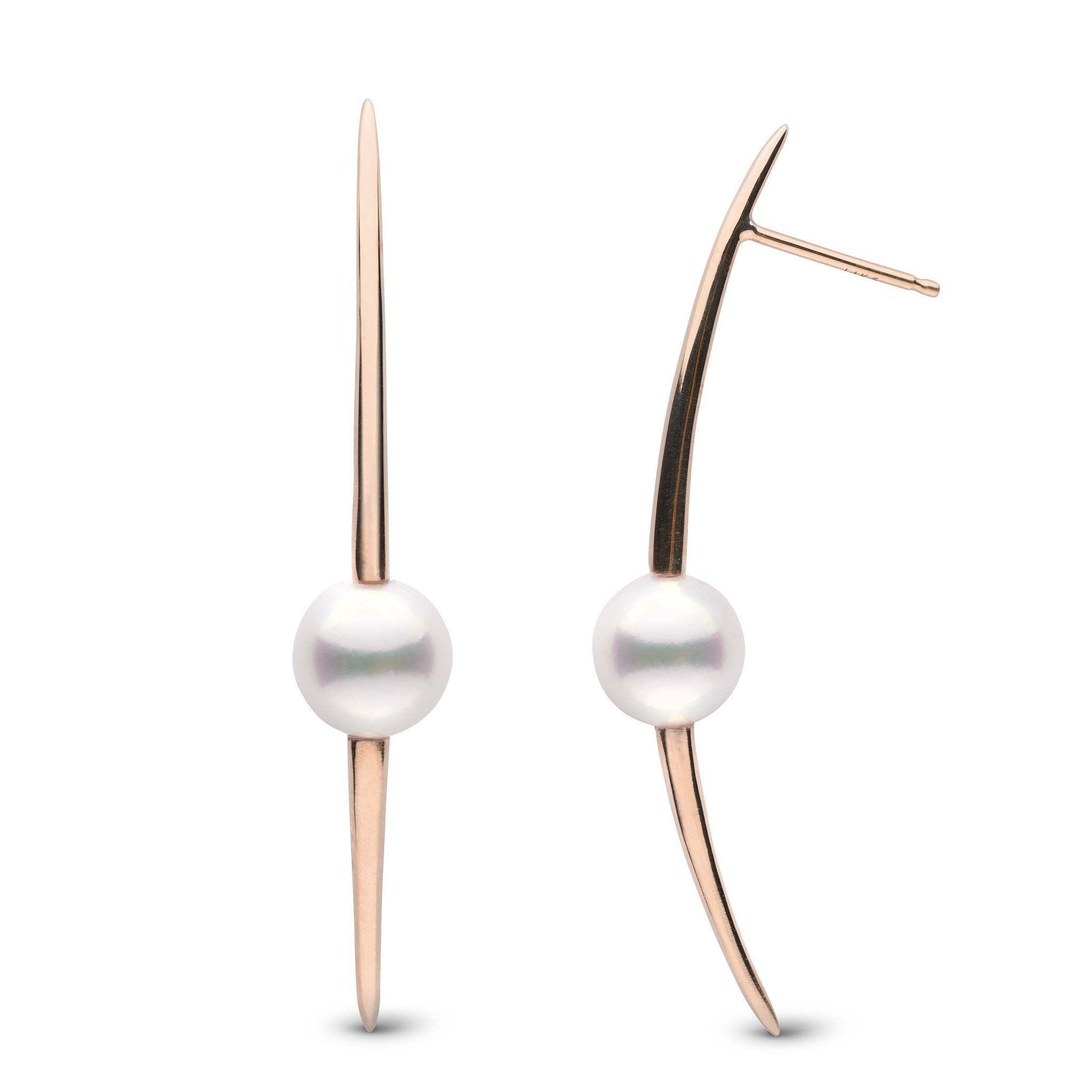 Stiletto Collection Akoya Pearl Earrings