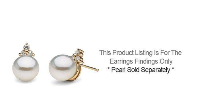 Trinity Collection Earrings - Setting Only