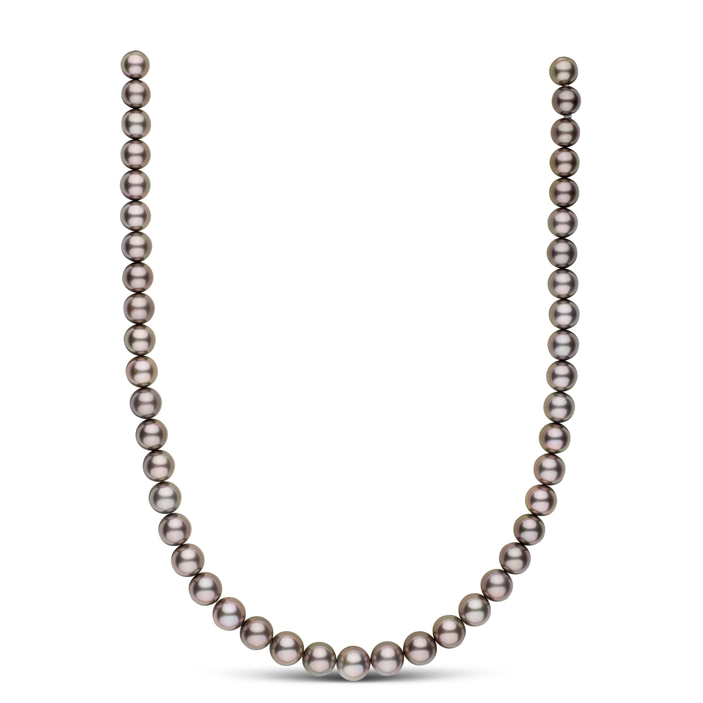 18-inch 8.2-9.9 mm AAA Round Tahitian Pearl Necklace