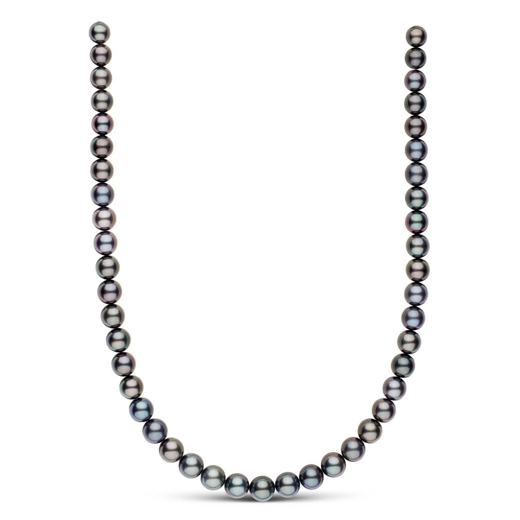 8.3-9.9 mm AAA Round Tahitian Pearl Necklace