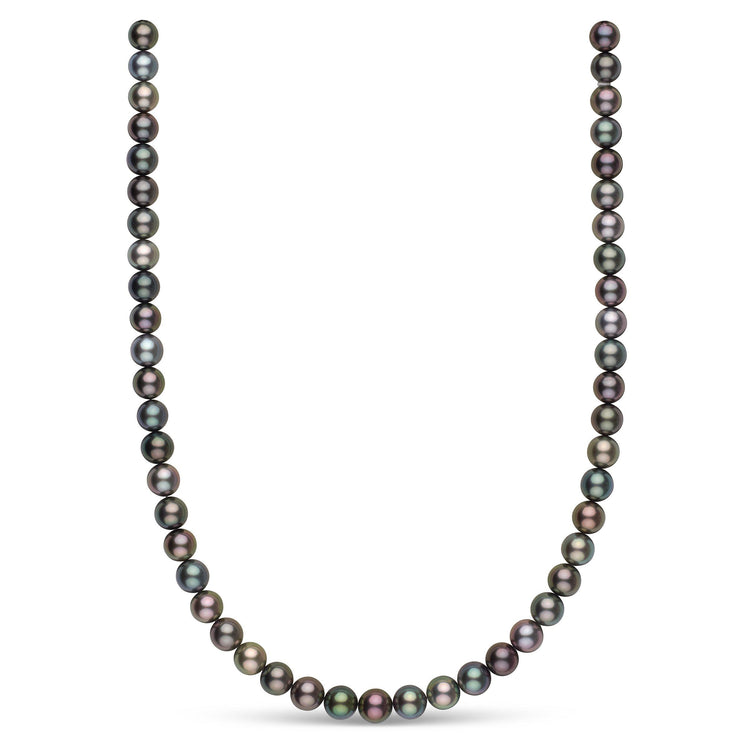 The Marvelous Multicolor Tahitian Pearl Necklace