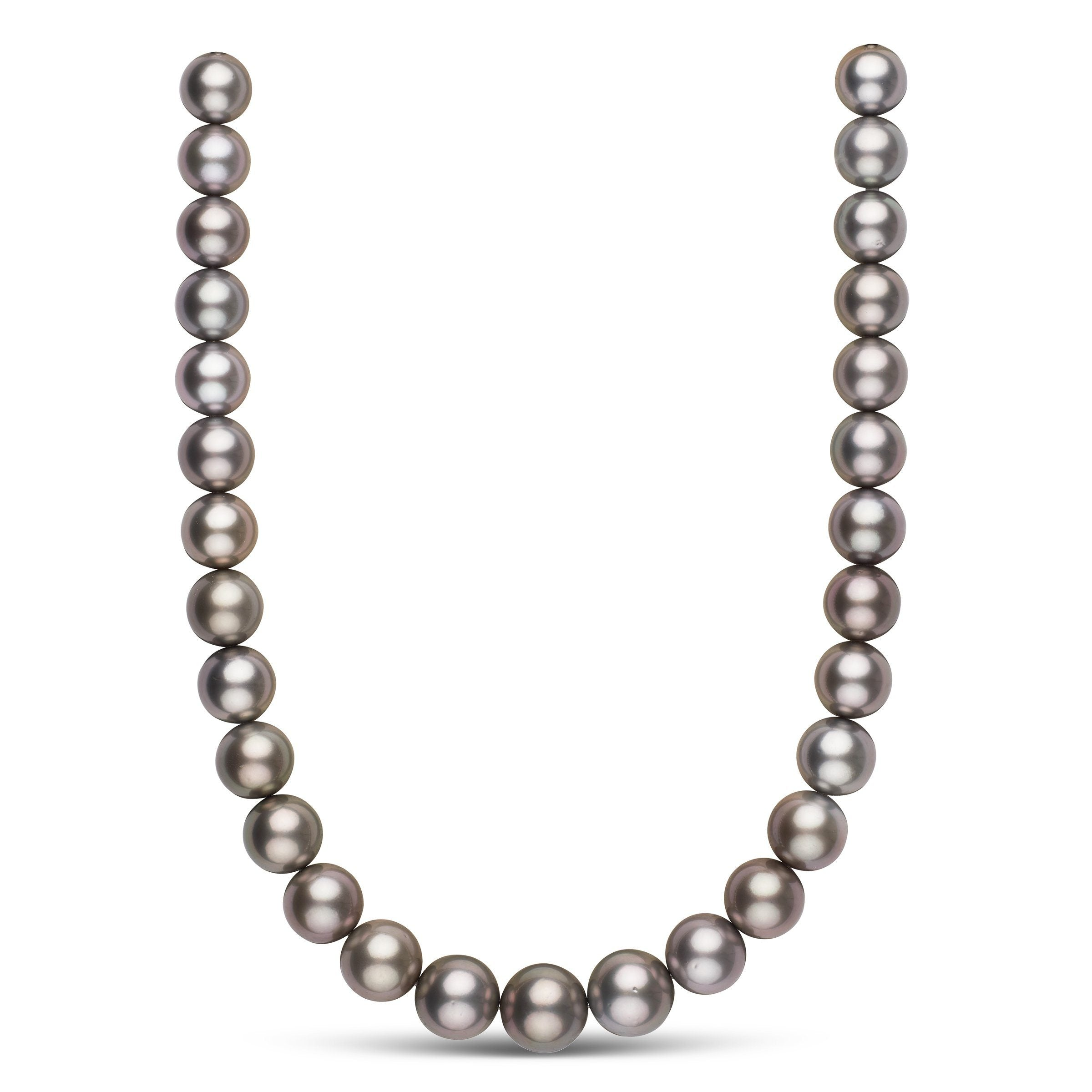 13.0-15.8 mm AA+/AAA Tahitian Round Pearl Necklace