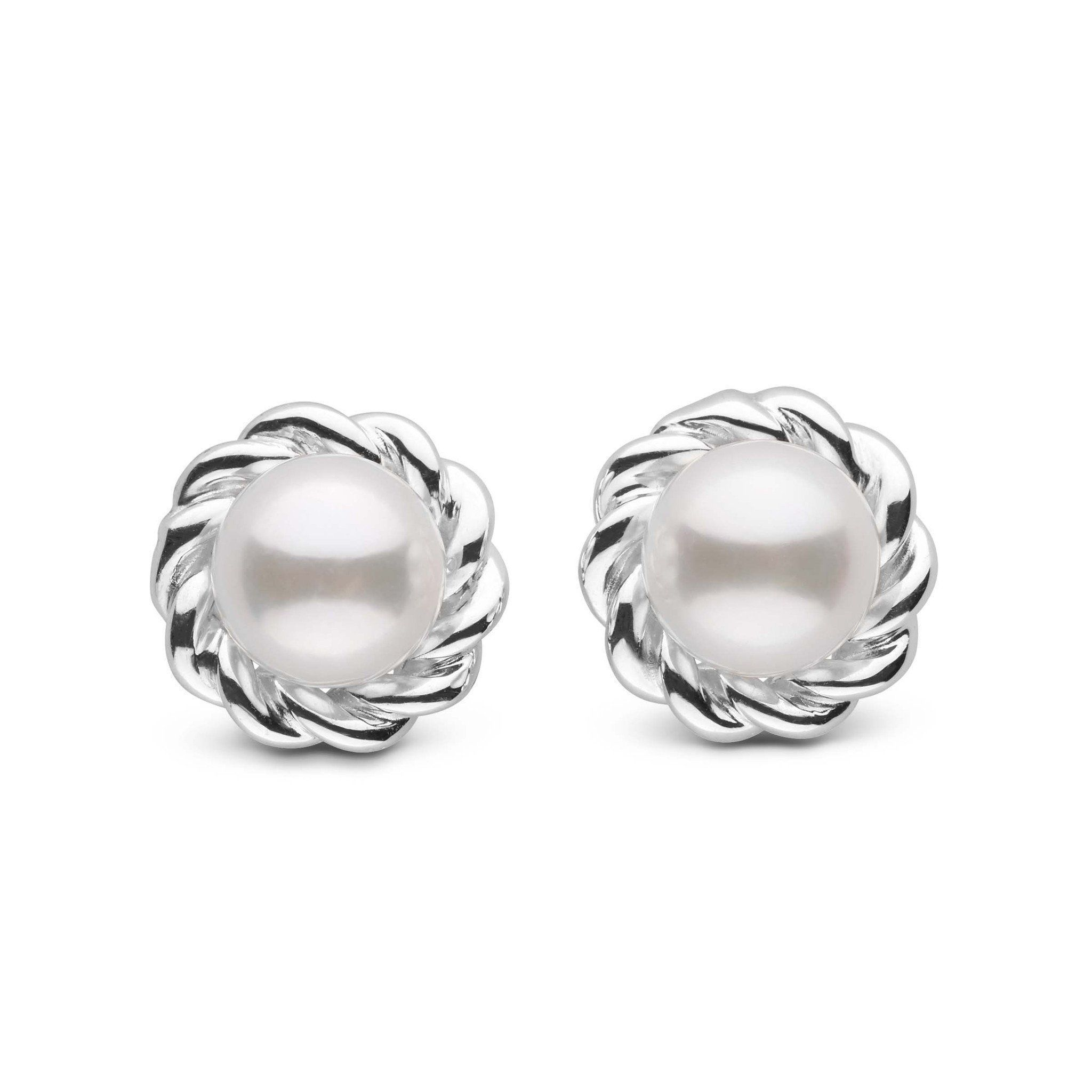 Twist Collection Akoya 6.5-7.0 mm Pearl Earring Jacket