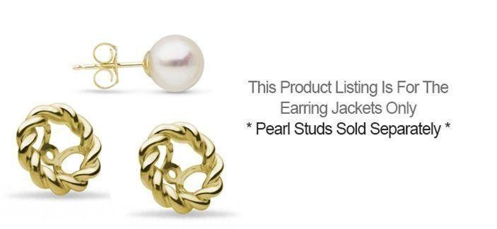 Twist Collection Earring Jacket - SETTING ONLY