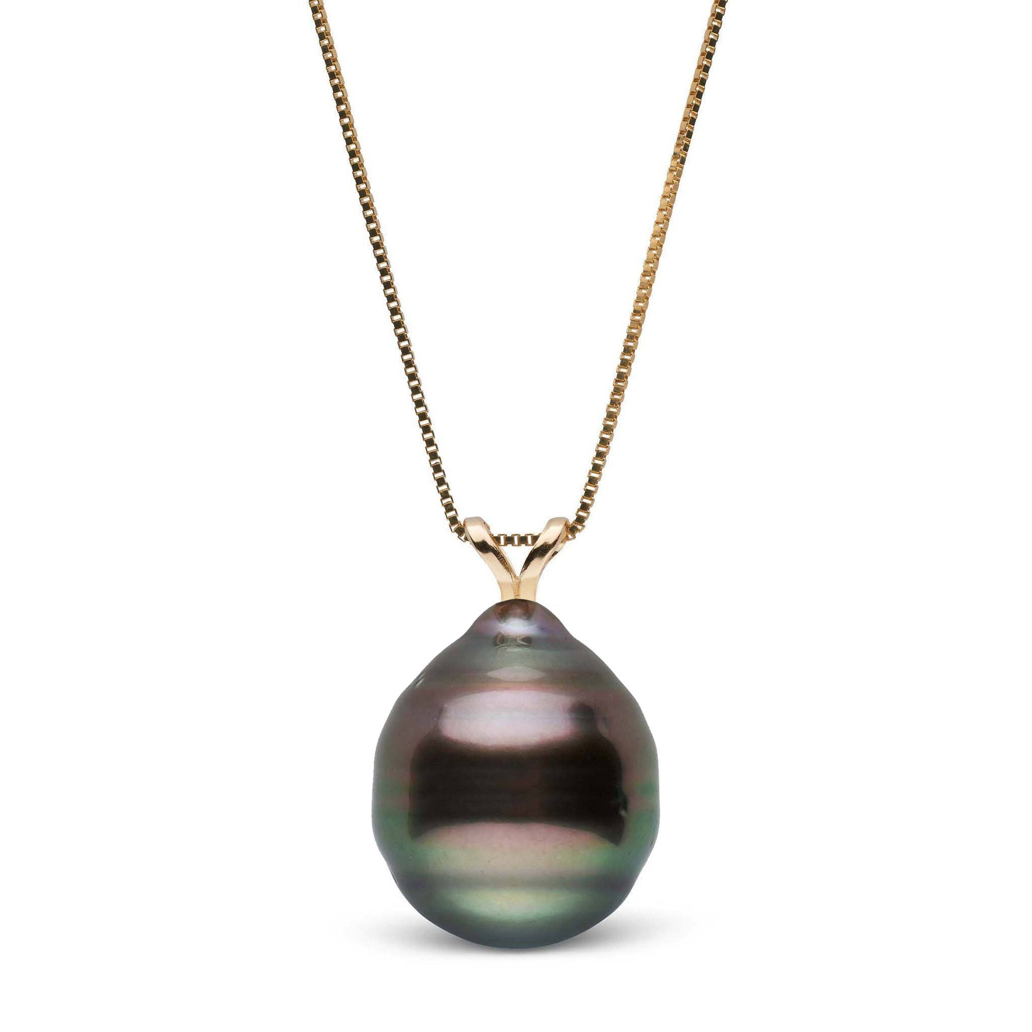 Unity Collection 11.0-12.0 mm Baroque Tahitian Pearl Pendant
