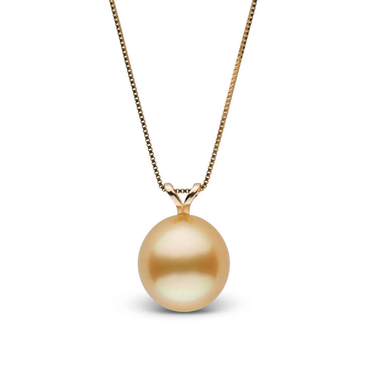 golden faumea sea pendant south products pearl