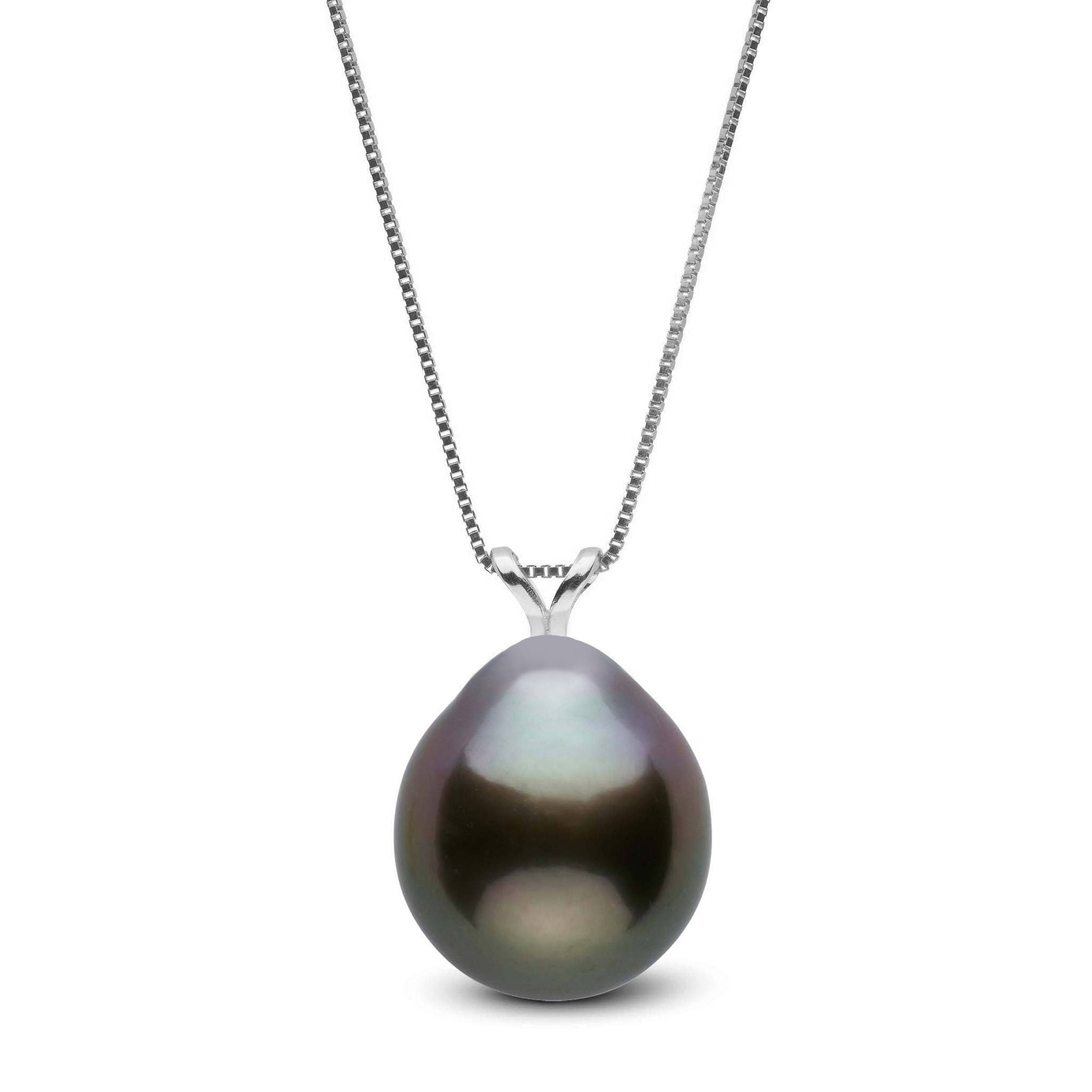 Unity Collection 10.0-11.0 mm Drop Tahitian Pearl Pendant