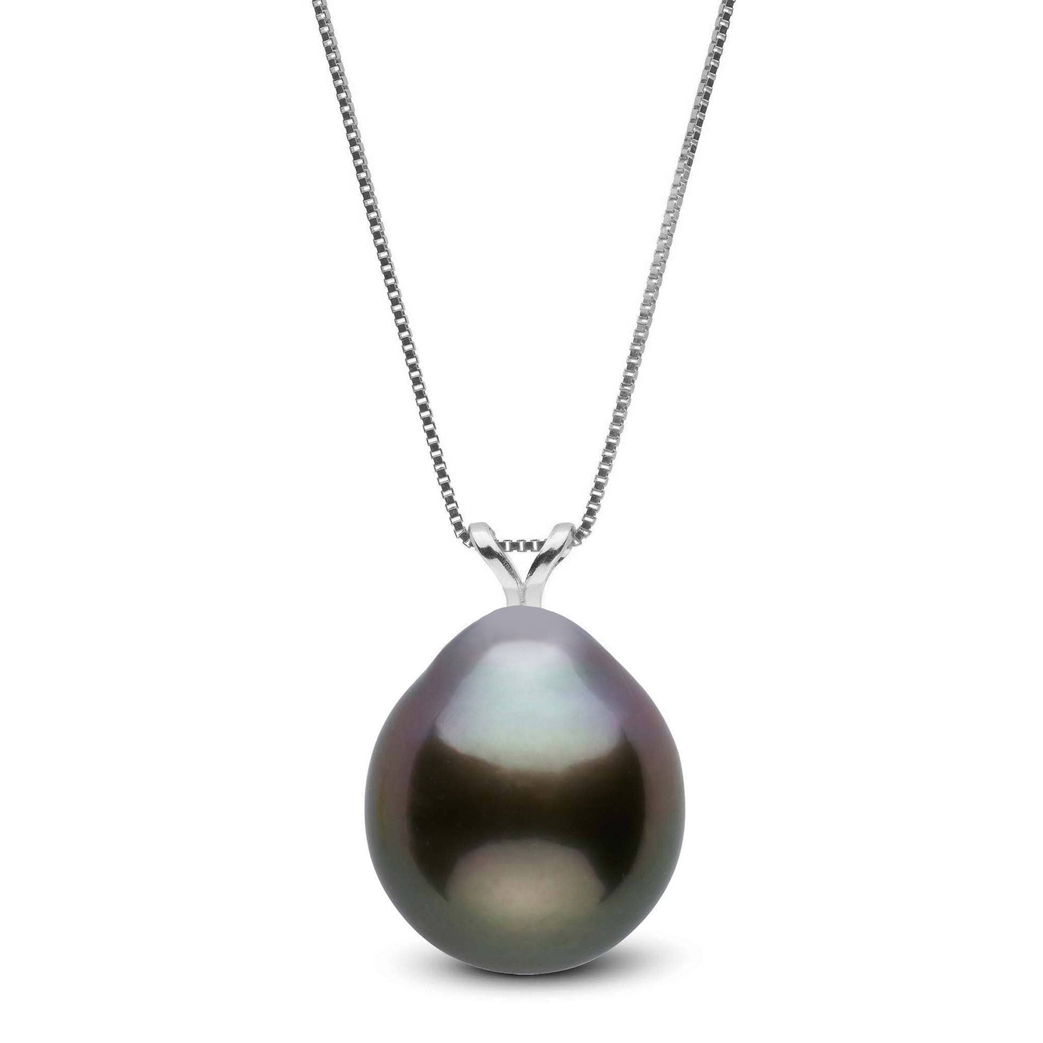 Unity Collection 11.0-12.0 mm Drop Tahitian Pearl Pendant
