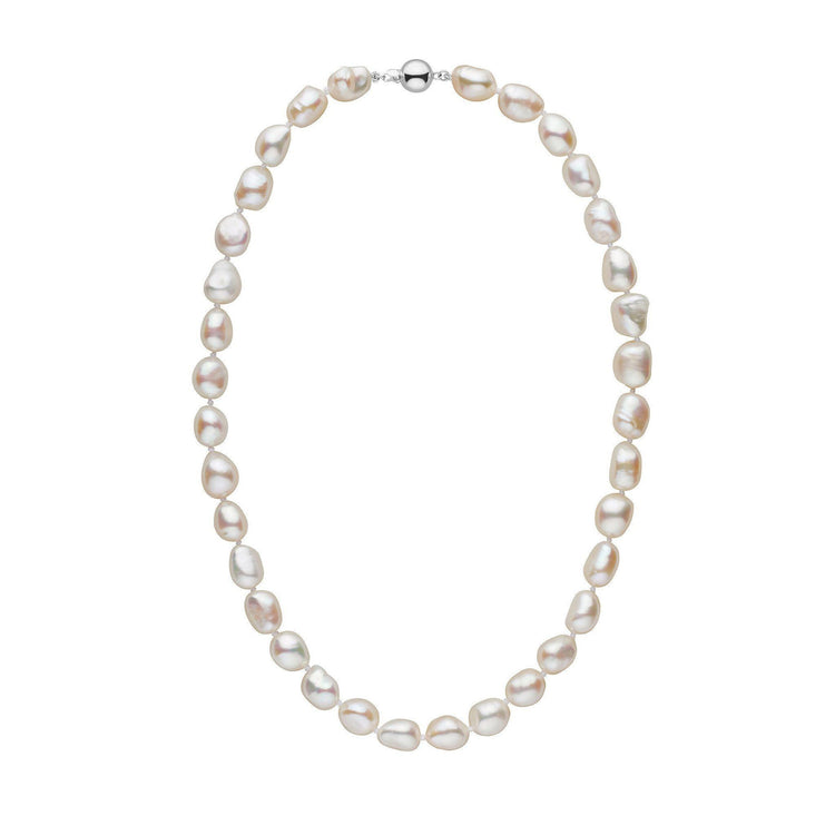 c787b588c1e0d White Freshwater Baroque Pearl Necklace