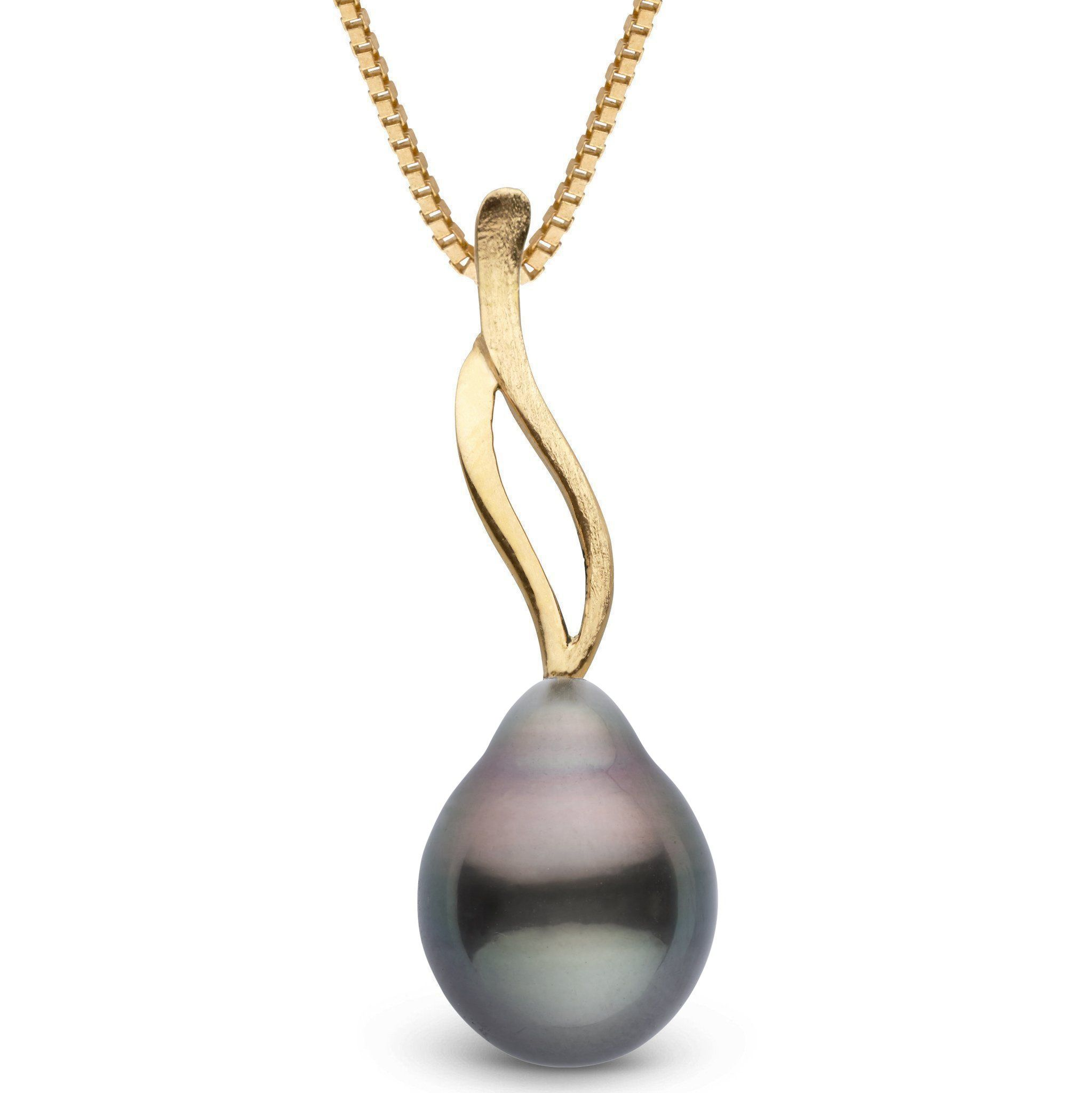 Wisp Collection Tahitian Drop 11.0-12.0 mm Pearl Pendant