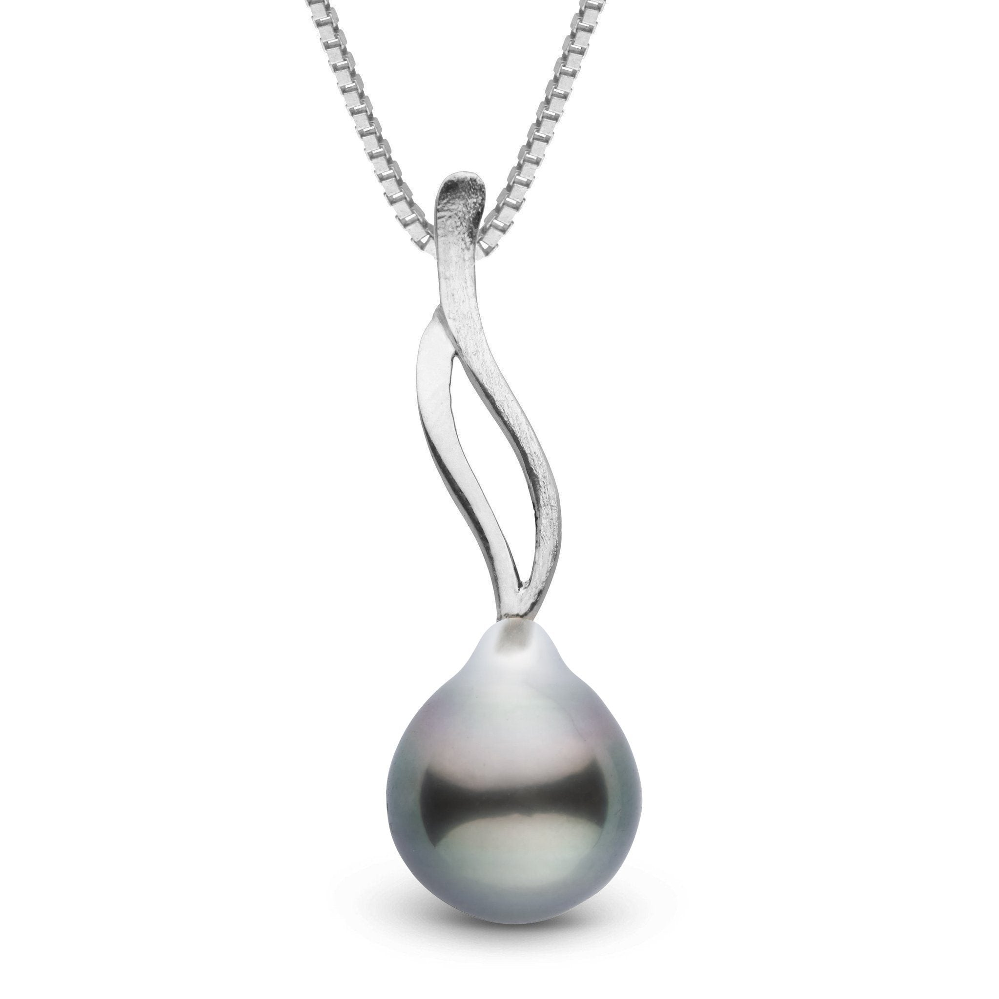 Wisp Collection Tahitian Baroque 9.0-10.0 mm Pearl Pendant