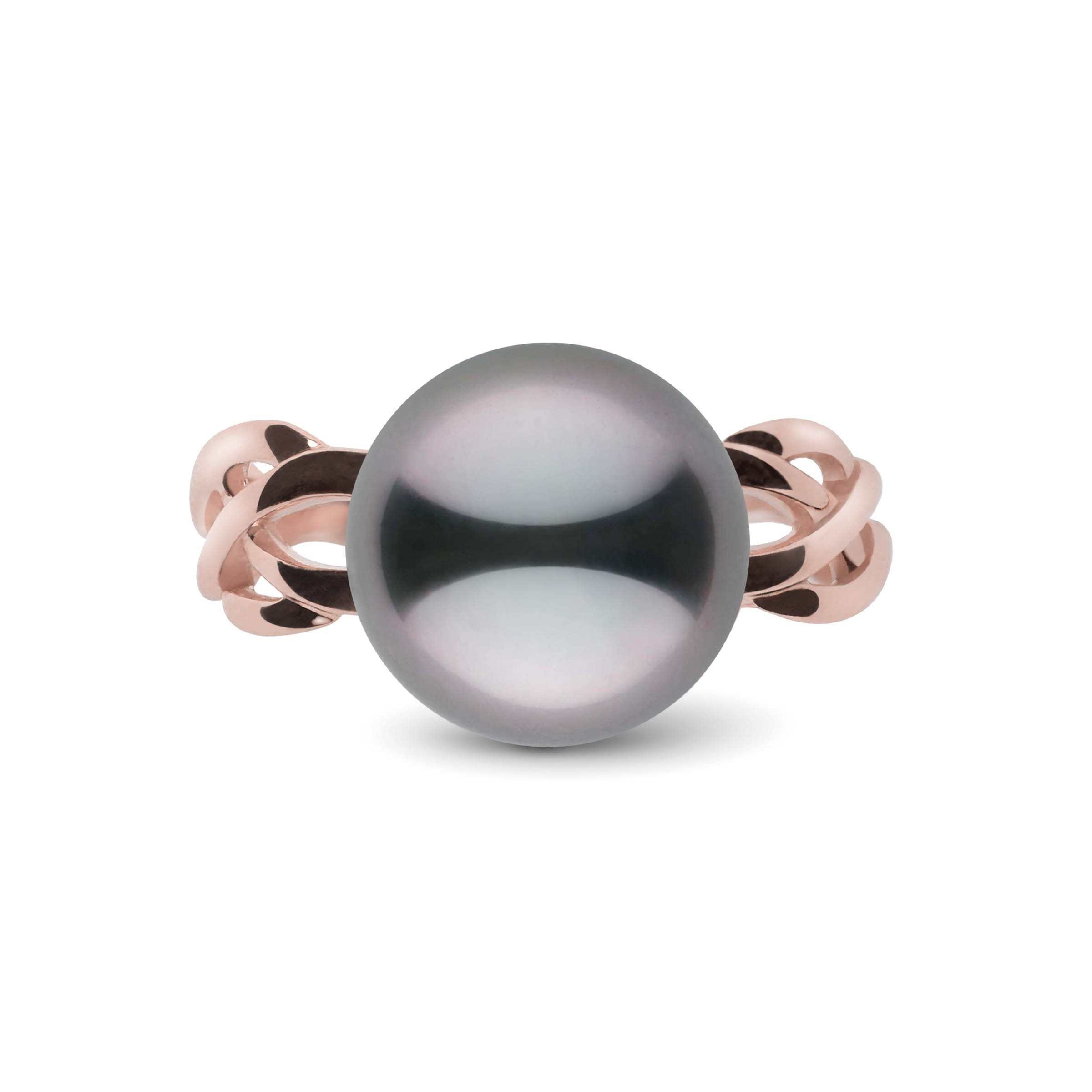 Wisp Collection 11.0-12.0 mm Tahitian Pearl Ring