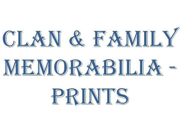 Clan & Family Memorabilia - Family Castle Prints
