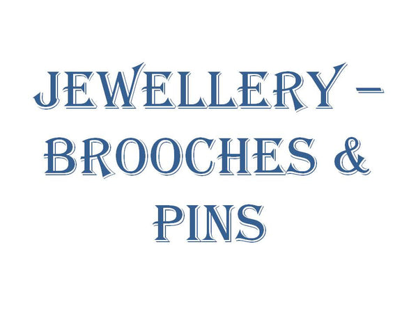 Jewellery - Brooches & Pins