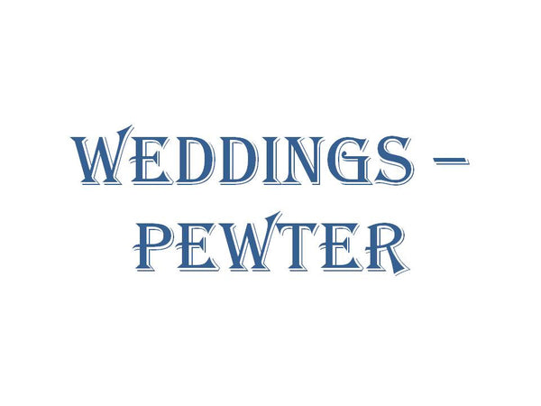 Wedding - Pewter