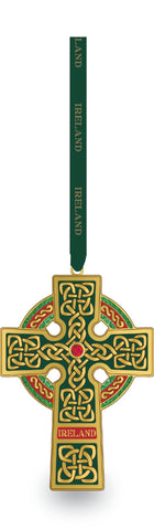 Ireland Celtic Cross Ornament
