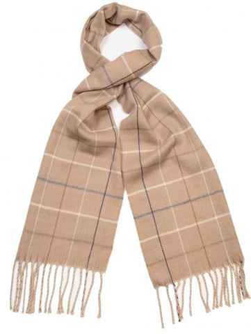 Scarf - Fawn Check