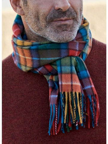 Scarf - 100% Cashmere Buchanan Antique