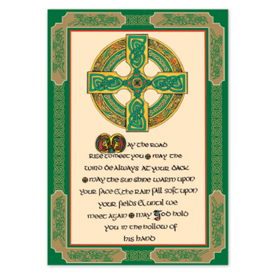 Tea Towel - Celtic Blessing