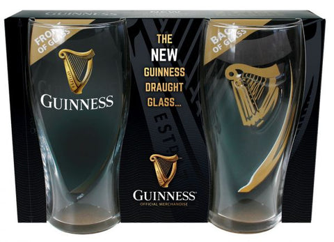 Guinness 2 Pint Glass Pack