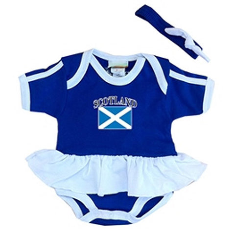 Baby Girl's Scotland Onesie