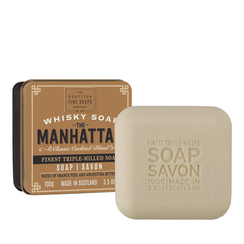Soap In A Tin Whisky Manhattan