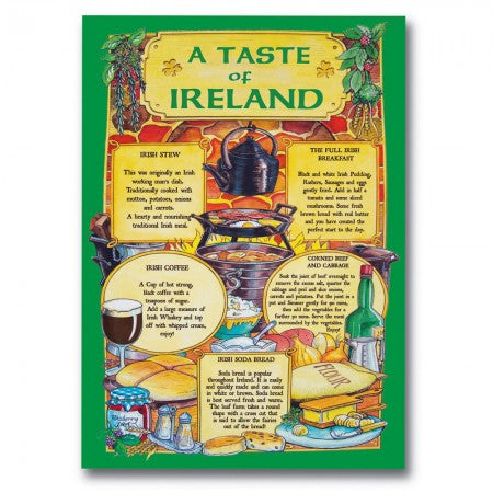 Tea Towel - Taste Of Ireland