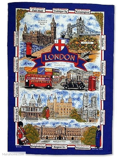 Tea Towel - London