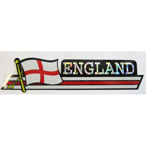 Bumper Sticker - England