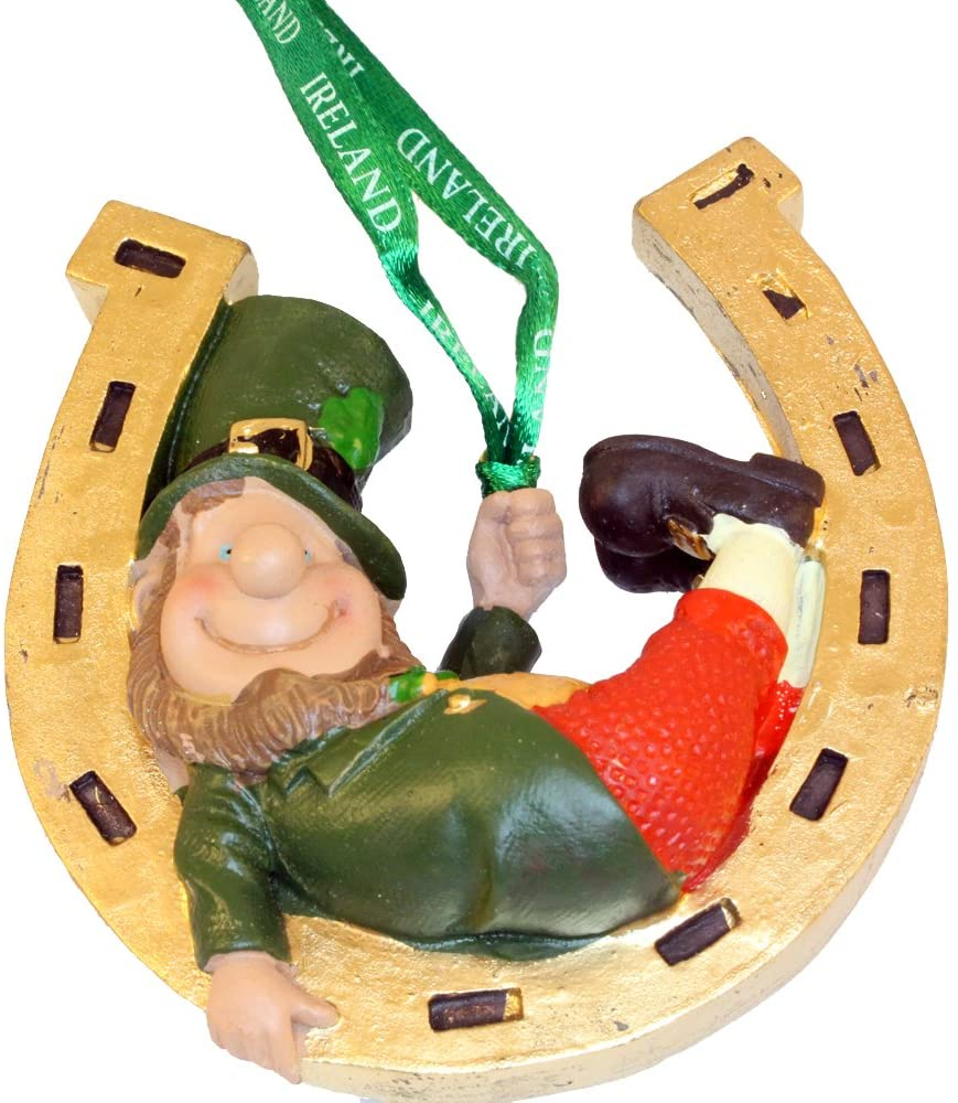 Finnian the Leprechaun Ornament