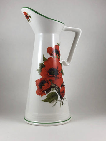 Water Pitcher - Poppy